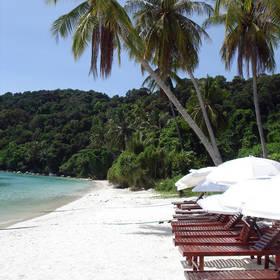 Strand van Lang Tengah