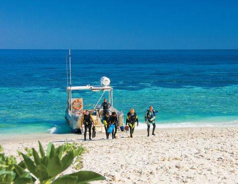 Australie-Lady-Elliot-Island-duikers