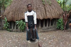 Baliemvallei: Zoutwaterbron, mummie en Dani-dorpjes