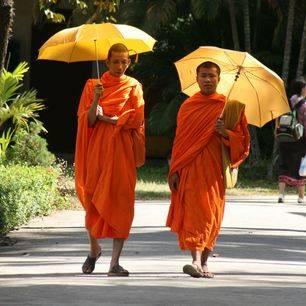 Laos-Vientiane-Monnik1
