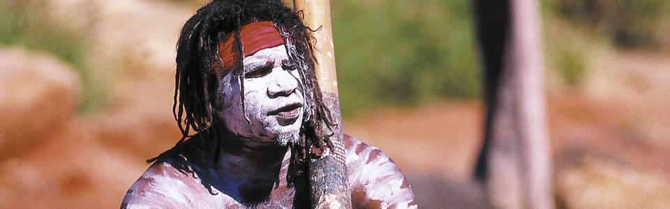 Op bezoek bij de Aboriginals in het Red Centre