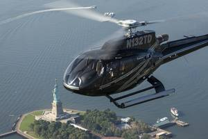 Helikoptervlucht over The Big Apple