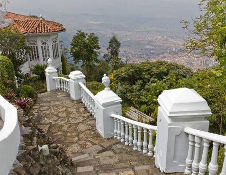 Colombia-Bogota-uizicht-stad