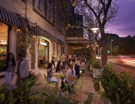 Australie-Adelaide-straatbeeld