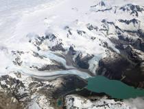 Jetboot naar de Leones gletsjer