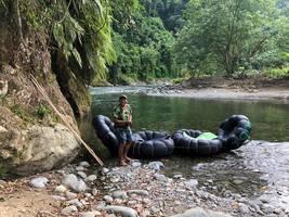 Jungletrekking en tuben