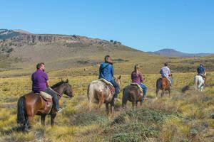 Paardrijden bij Bariloche