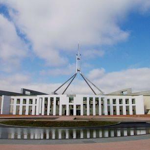 Australie-Canberra-Parlementsgebouw