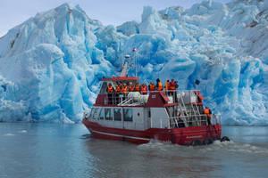 Boottocht over Lago Grey