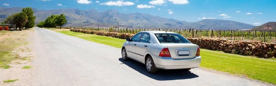 Auto rijden Zuid-Afrika