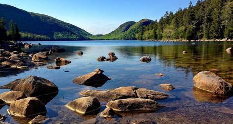 Amerika-Acadia-Meer