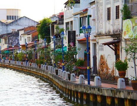 Maleisie-Melaka-terrassen