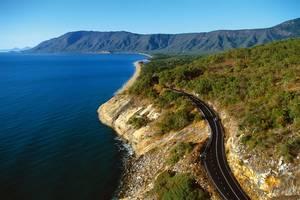 Australie-Cairns-snelweg