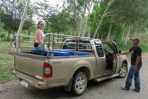 Olifantensafari in Thailand