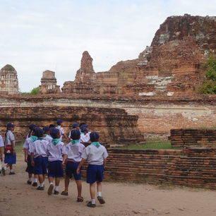 Thailand_Ayutthaya_Kinderen