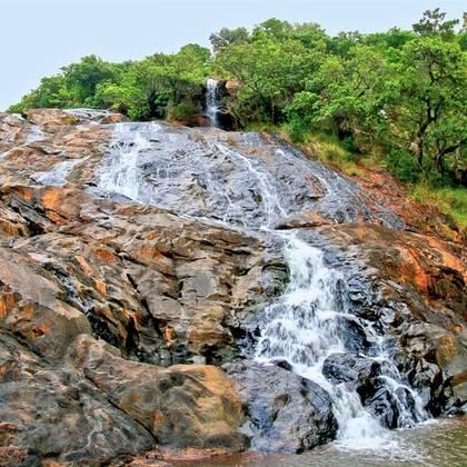 Phophonyane falls in Swaziland