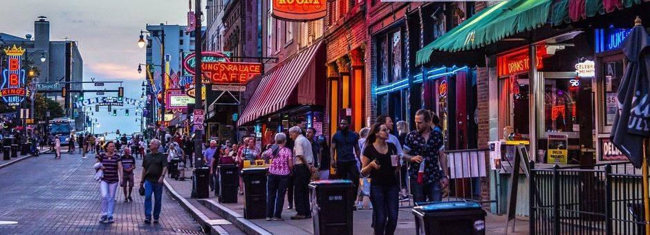 Amerika-Memphis-Beale-Street