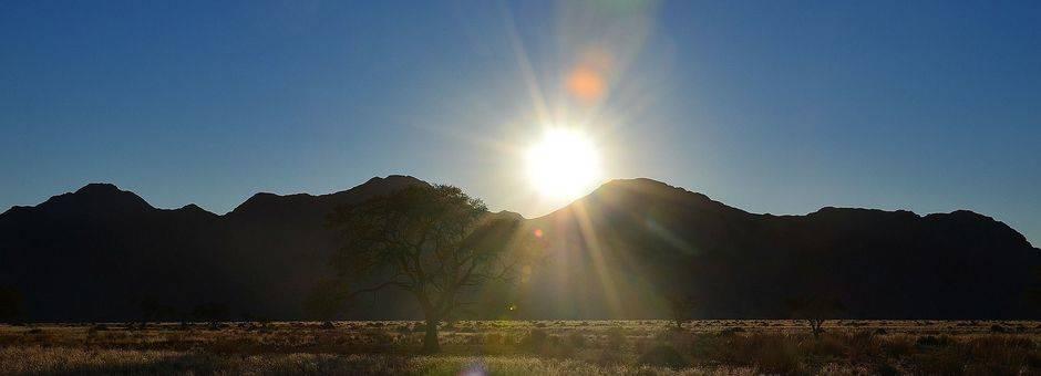 Zuid-Afrika-Nature-Valley-zonsondergang