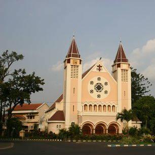 Java-Malang-kerkgebouw
