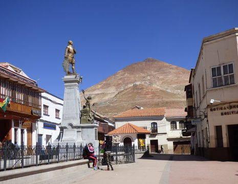 Binnenstad-Potosi-Bolivia