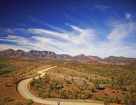Australie-Flinders-Ranges-landschap