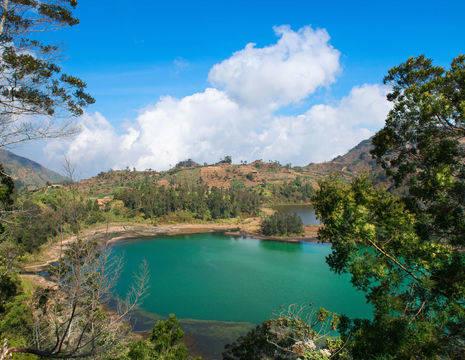 Indonesie-Java-Diengplateau-meer1