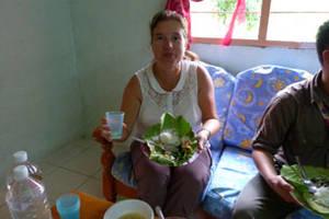 Siem Reap, Koken met een lokale familie