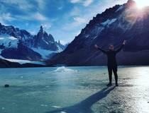 IJswandeling over de gletsjer