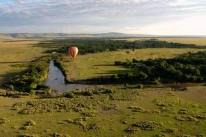 Masai Mara, Ballonvaart