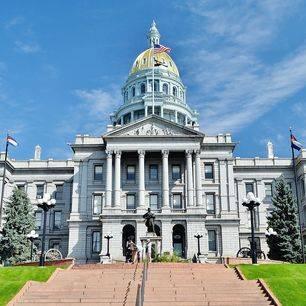 Amerika-Denver-Regeringsgebouw