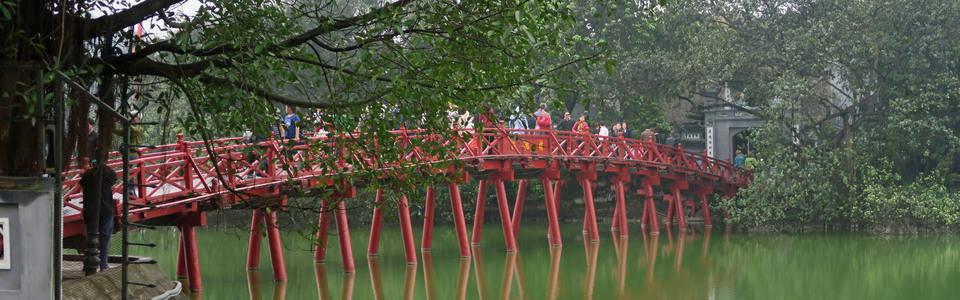 Hanoi Hoan Kiem meer