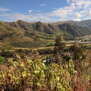 Peru-Ollantaytambo-Landschap