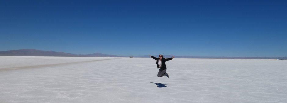 Argentinie-Salinas-Grande-Zoutvlakte