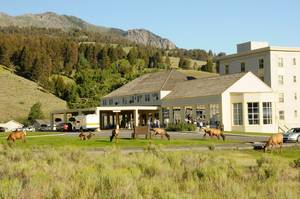 Mammonth Hot Springs Hotel