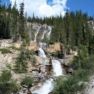 Canada-Jasper-Waterval