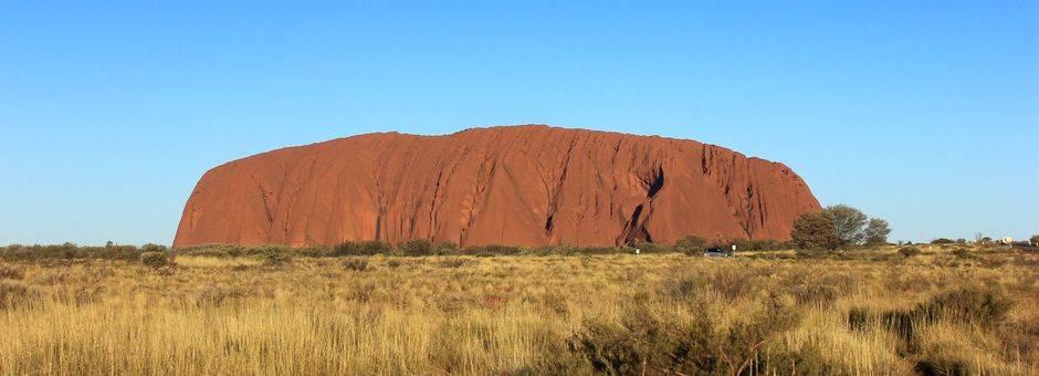 Australie-Uluru-monoliet
