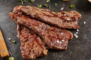 Patagonische gaucho-lunch