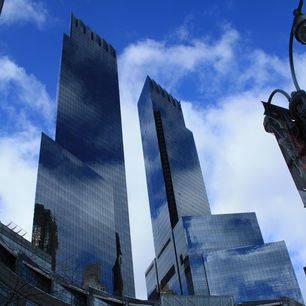 Amerika-New-York-Wolkenkrabbers