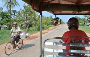 Countryside tocht per tuktuk