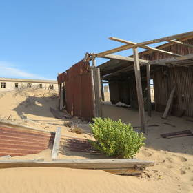 Kolmanskop in Namibië