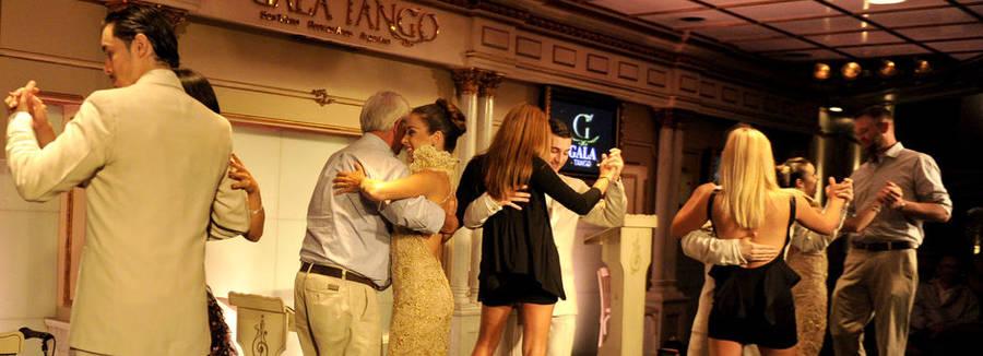 Tango dansen
