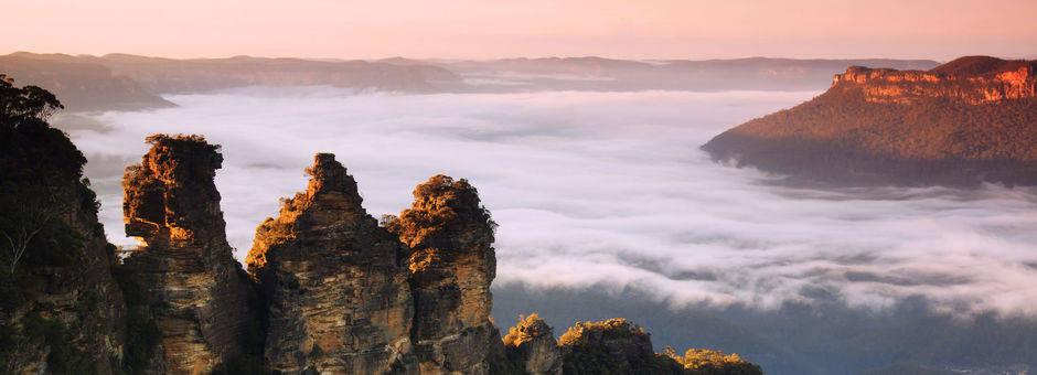 Australie-Blue-Mountains-three-sisters-uitzichtpunt