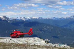 Helikoptervlucht Black Comb Mountain