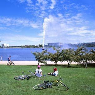 Australie-Canberra-fontijn