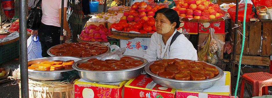 Myanmar-Yangon-locale markt(13)