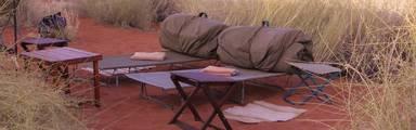 Slapen onder de sterren in Namibie