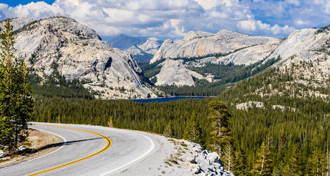 Amerika-Yosemite-Tioga-Pass