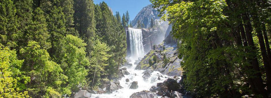 Amerika-Yosemite-Vernal-Falls