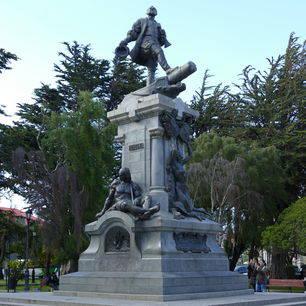 Chili-Punta-Arenas-centrale-plein