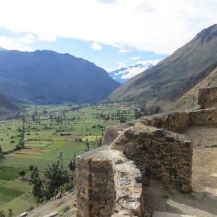 Peru-Heilige-Vallei-Ollantaytambo-uitzicht_1_357505